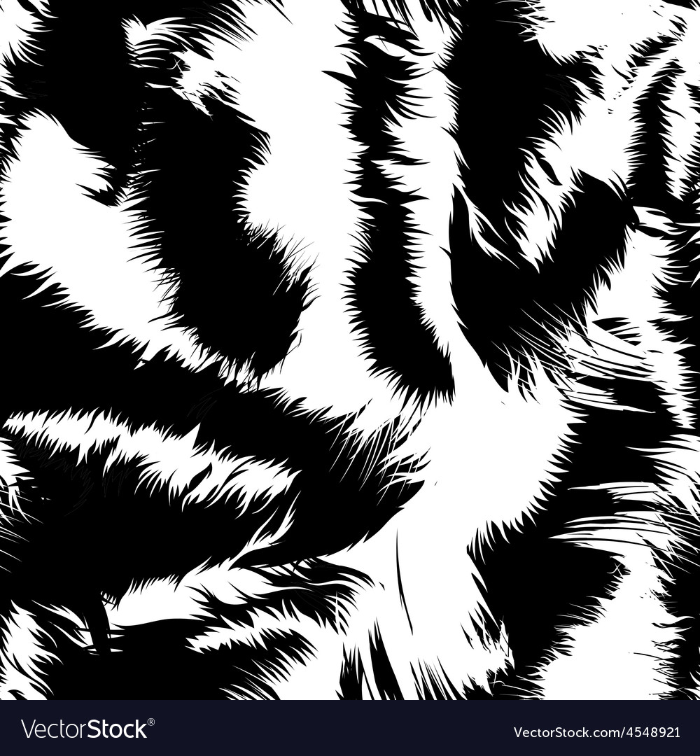 Tiger Pattern Simple Decoration