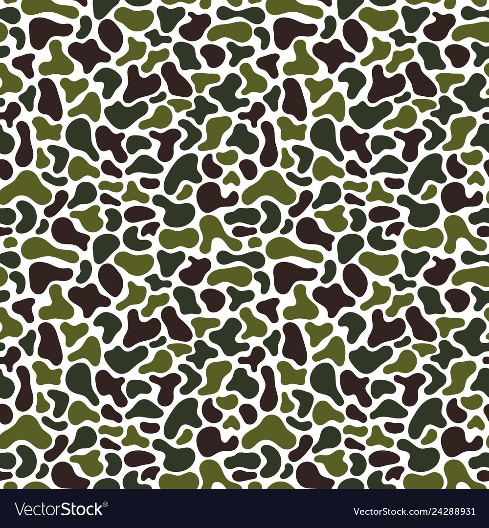 Camouflage fluid simple pattern geometric
