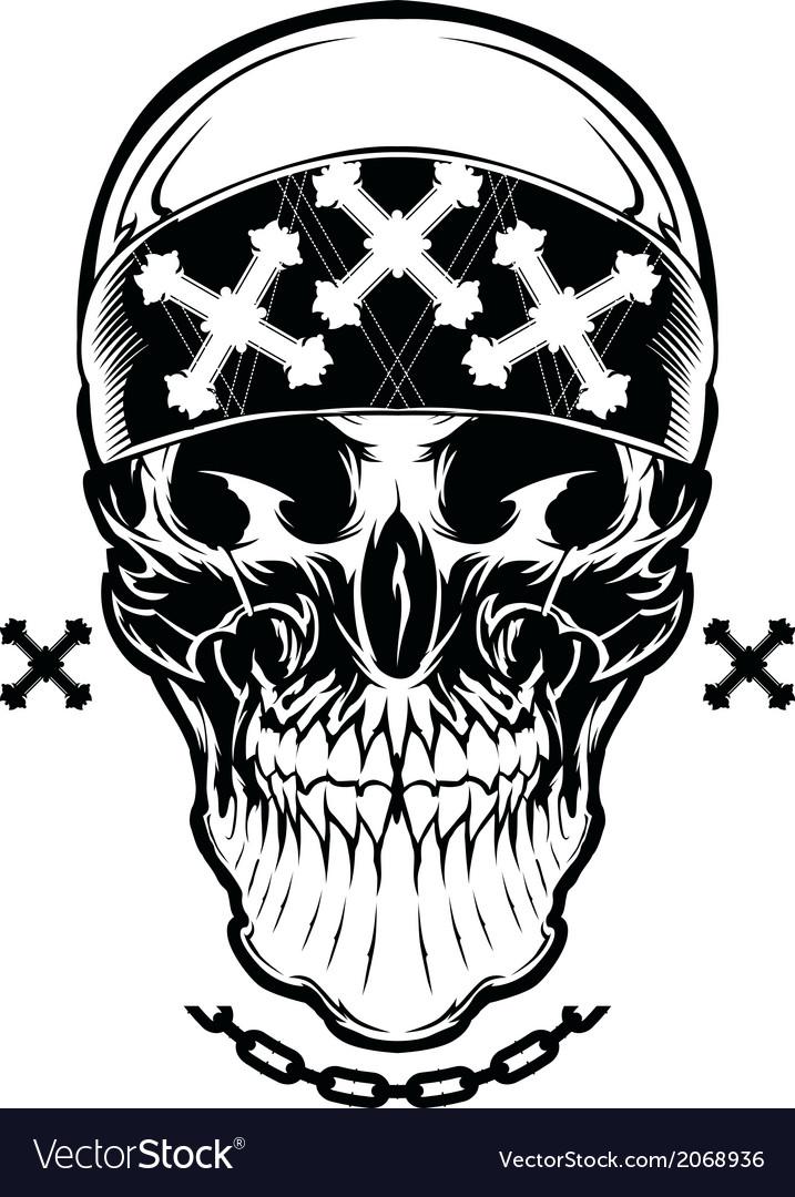 Skull Graphic vector image