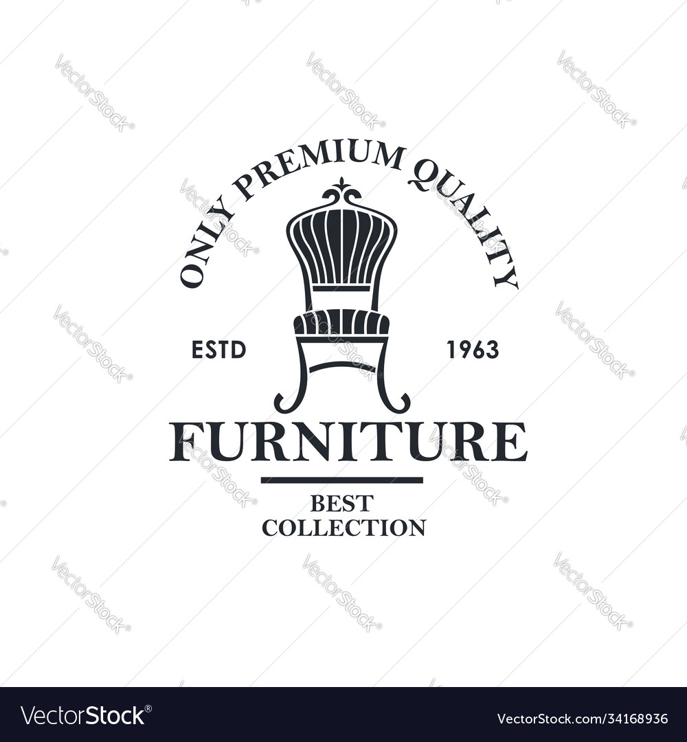 Soft furniture label