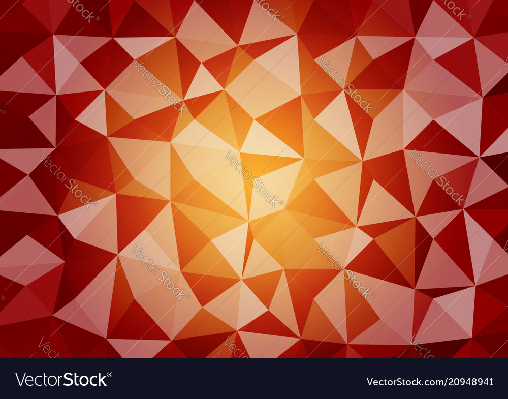 Multicolor geometric triangular style gradient