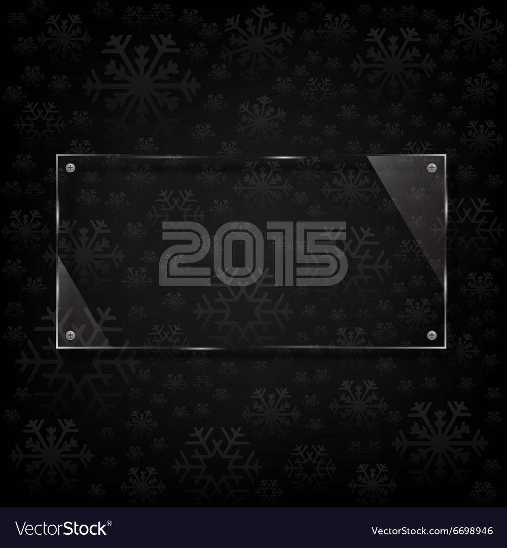 Glassy 2015 celebrate card