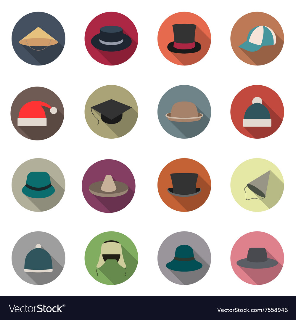Icons hats