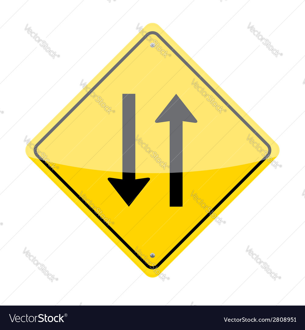Two Way Sign