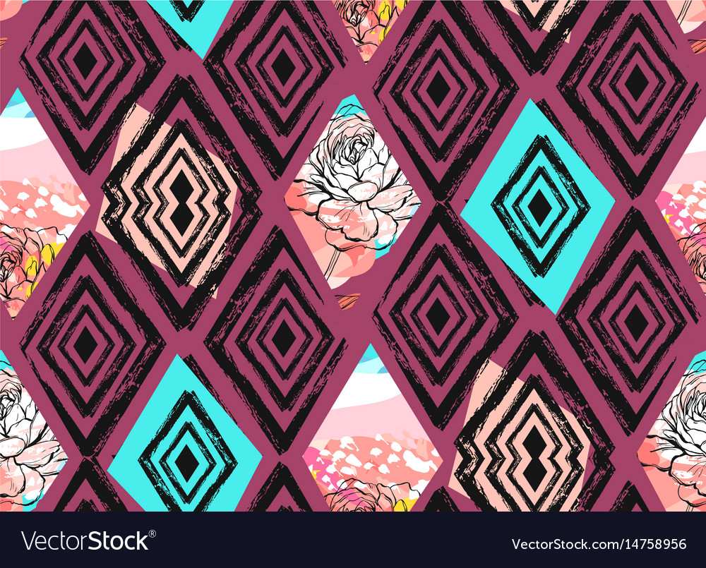 Hand drawn abstract freehand textured vector image