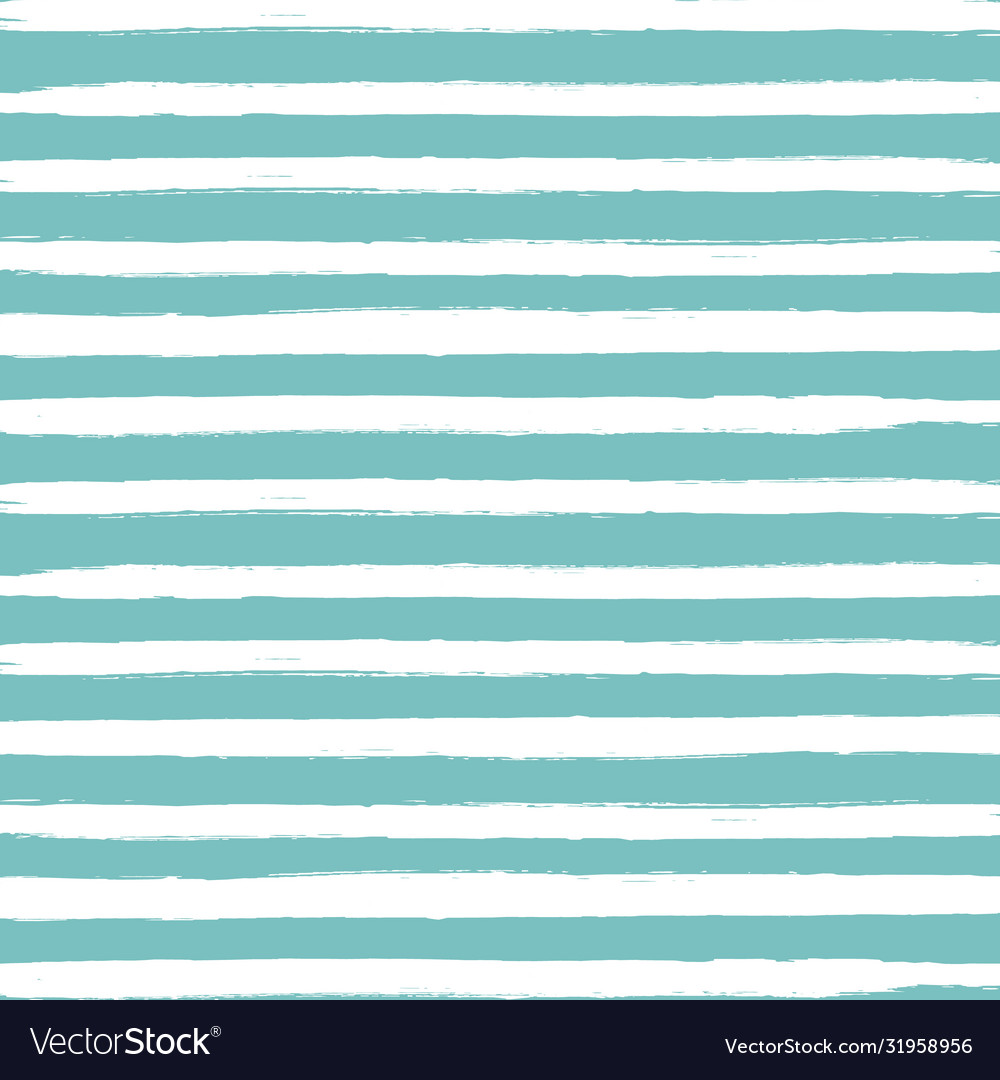 Mint background with paint line