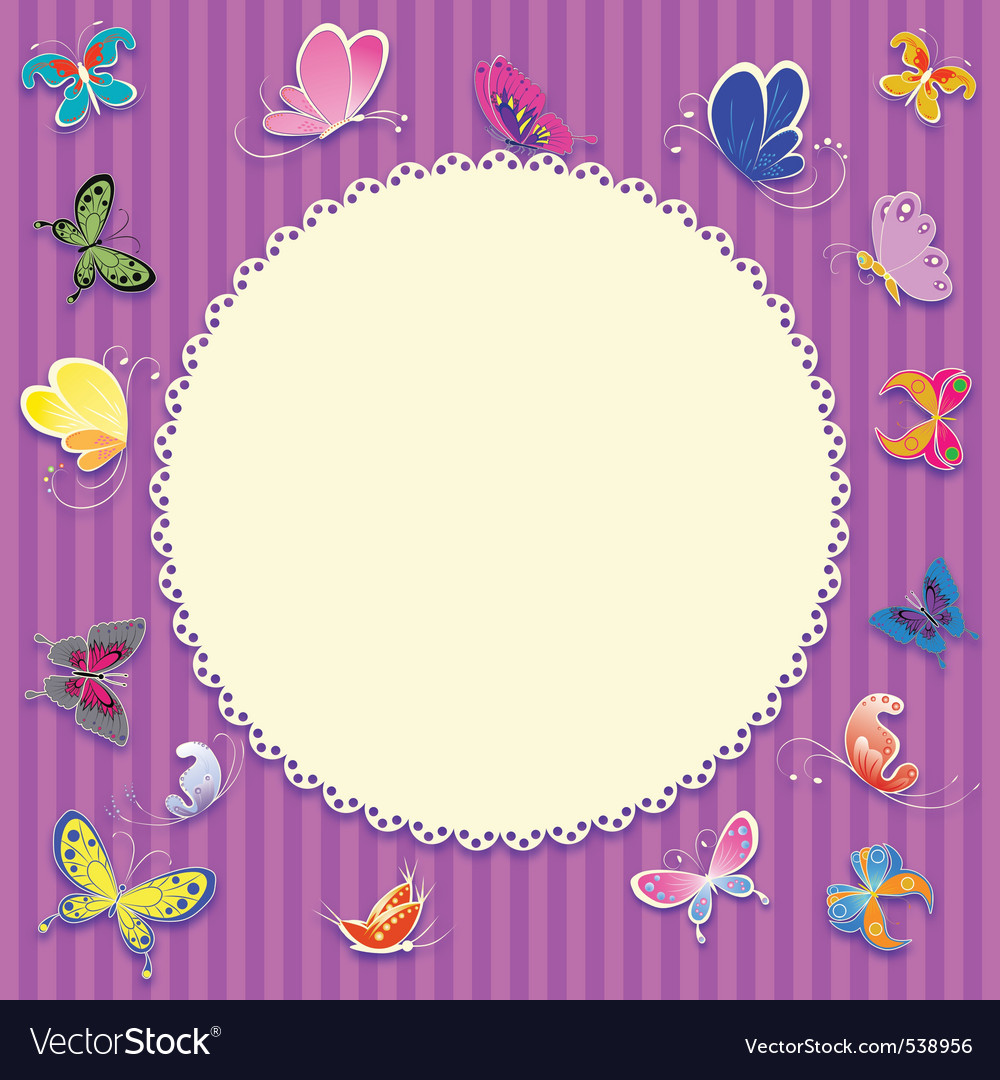 Retro greeting card background