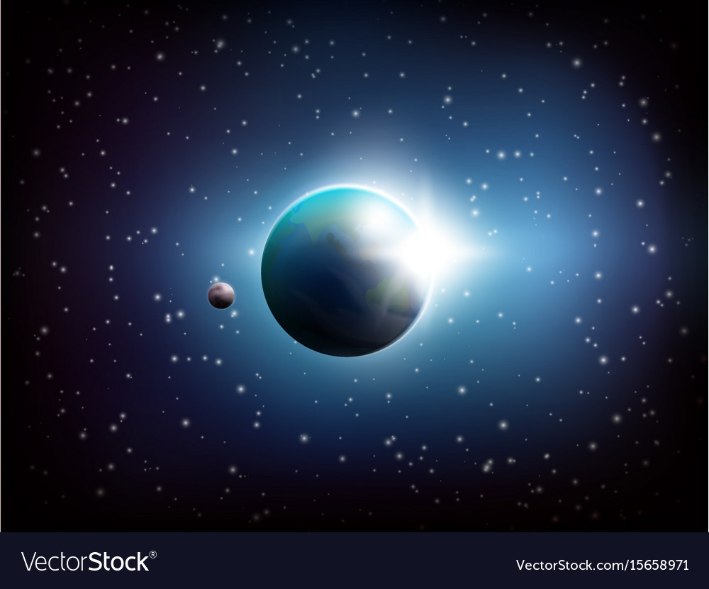 Dark space background