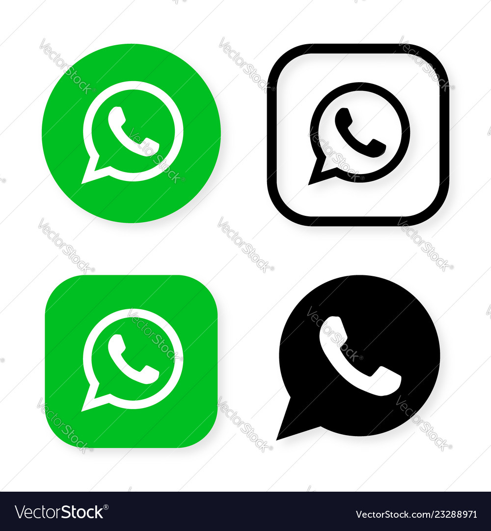 Phone handset icon in speech bubble on green