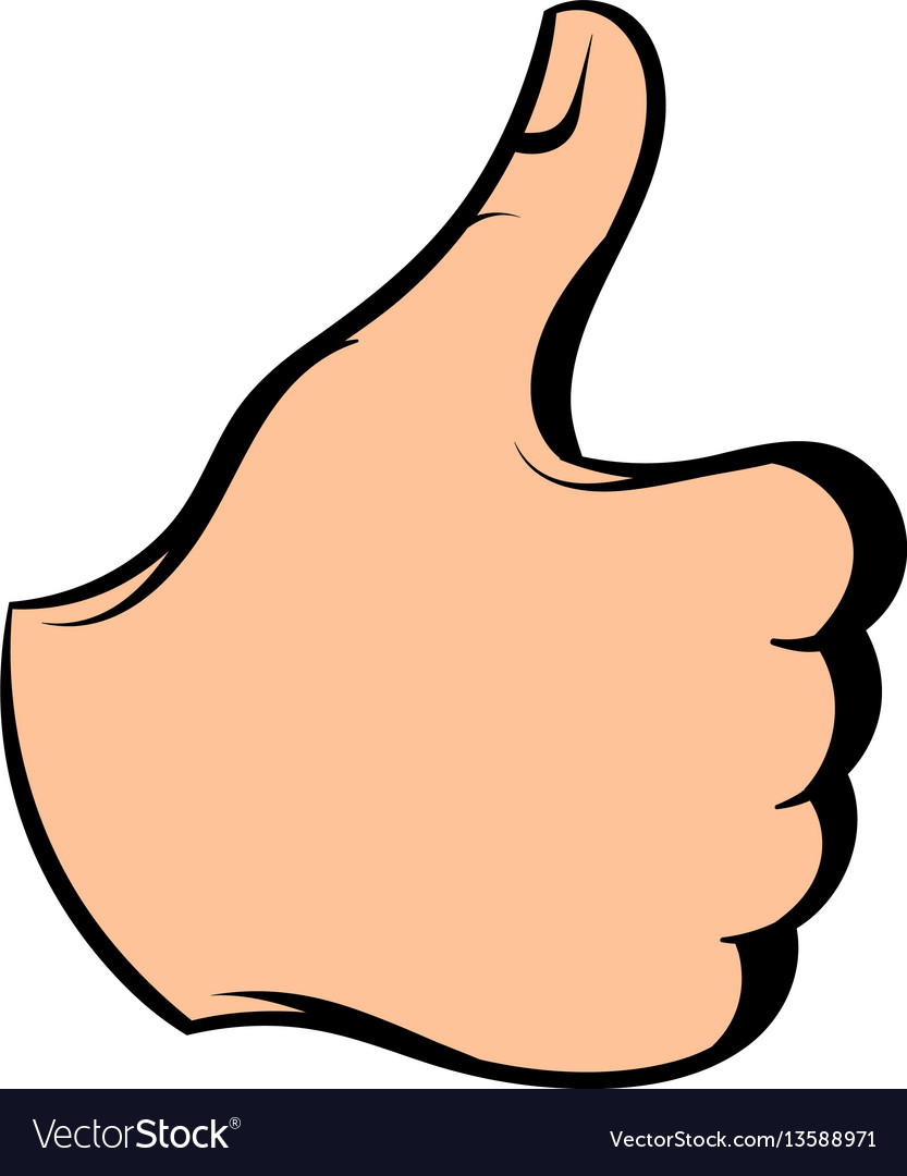 Thumb up icon icon cartoon