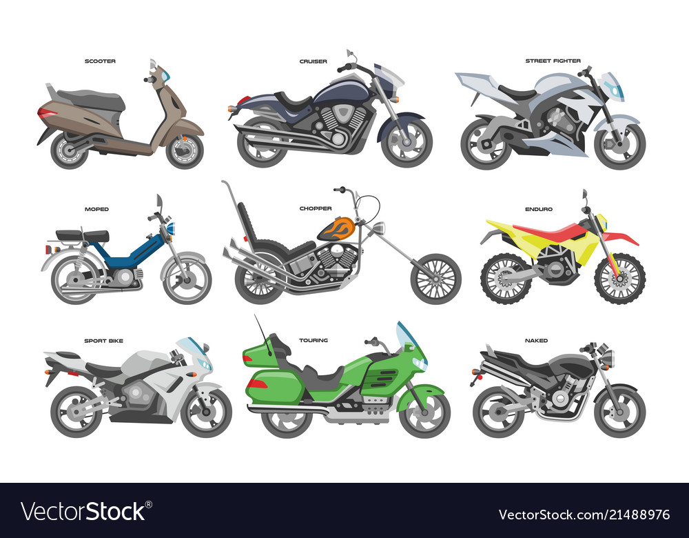 Motorcycle motorbike or chopper and