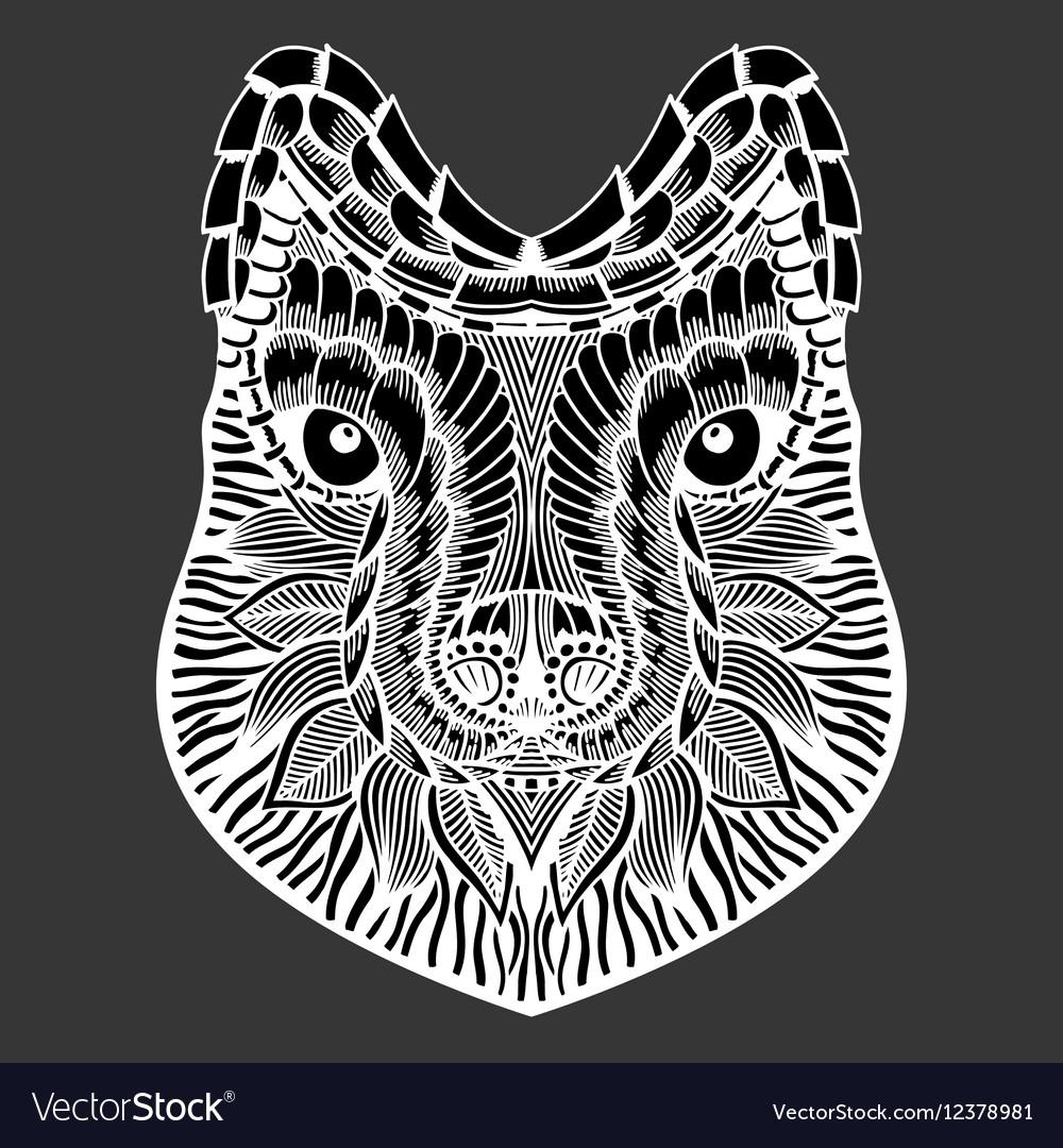 A cat vector image