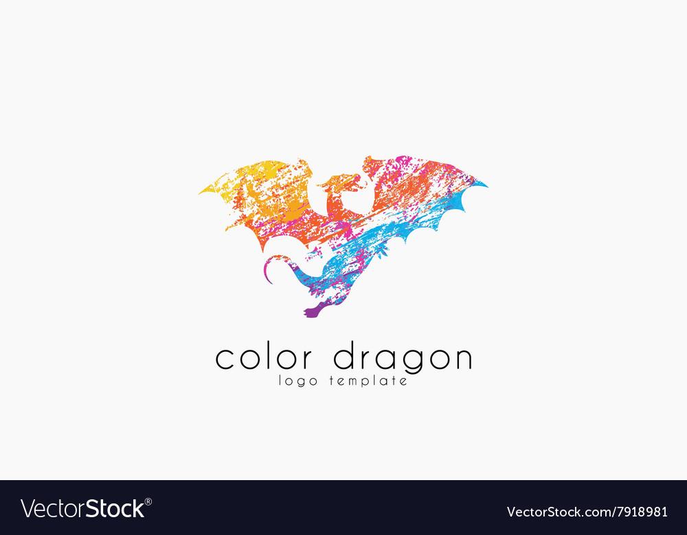 Dragon Logo Color dragon logo Creative logo