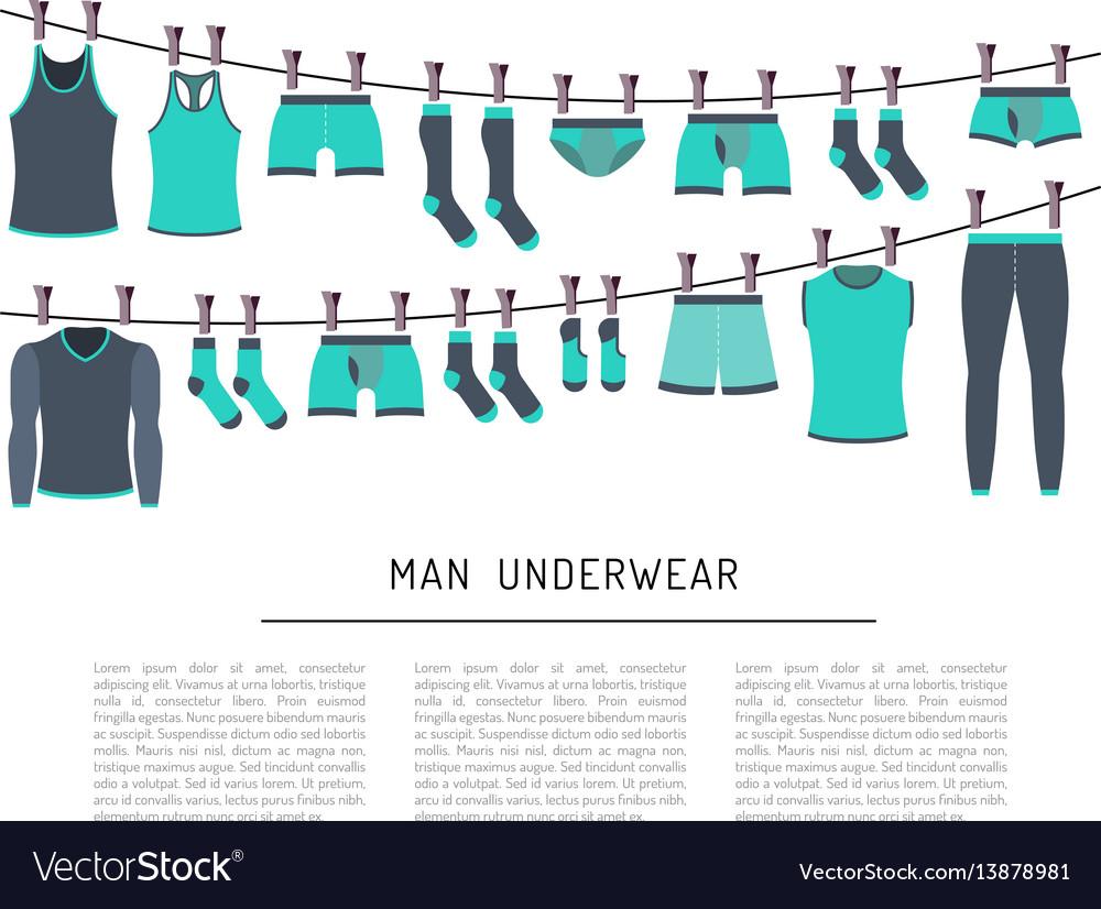 Men underwear clothing