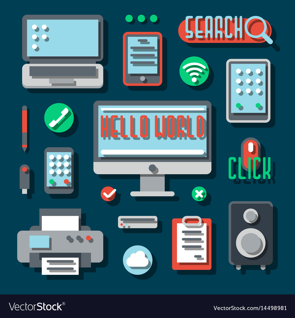 Office electronic devices for business