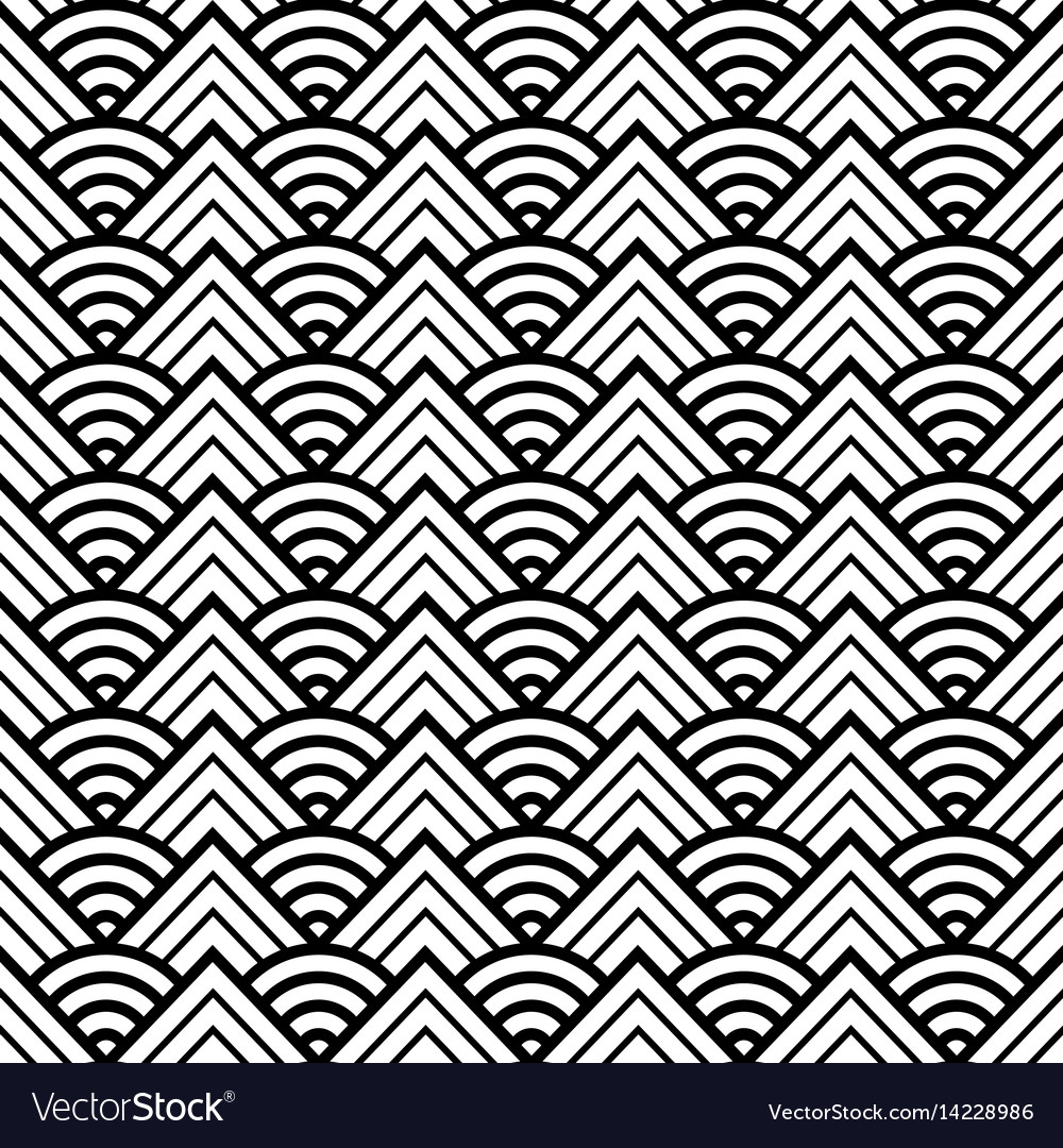 Abstract round pattern seamless