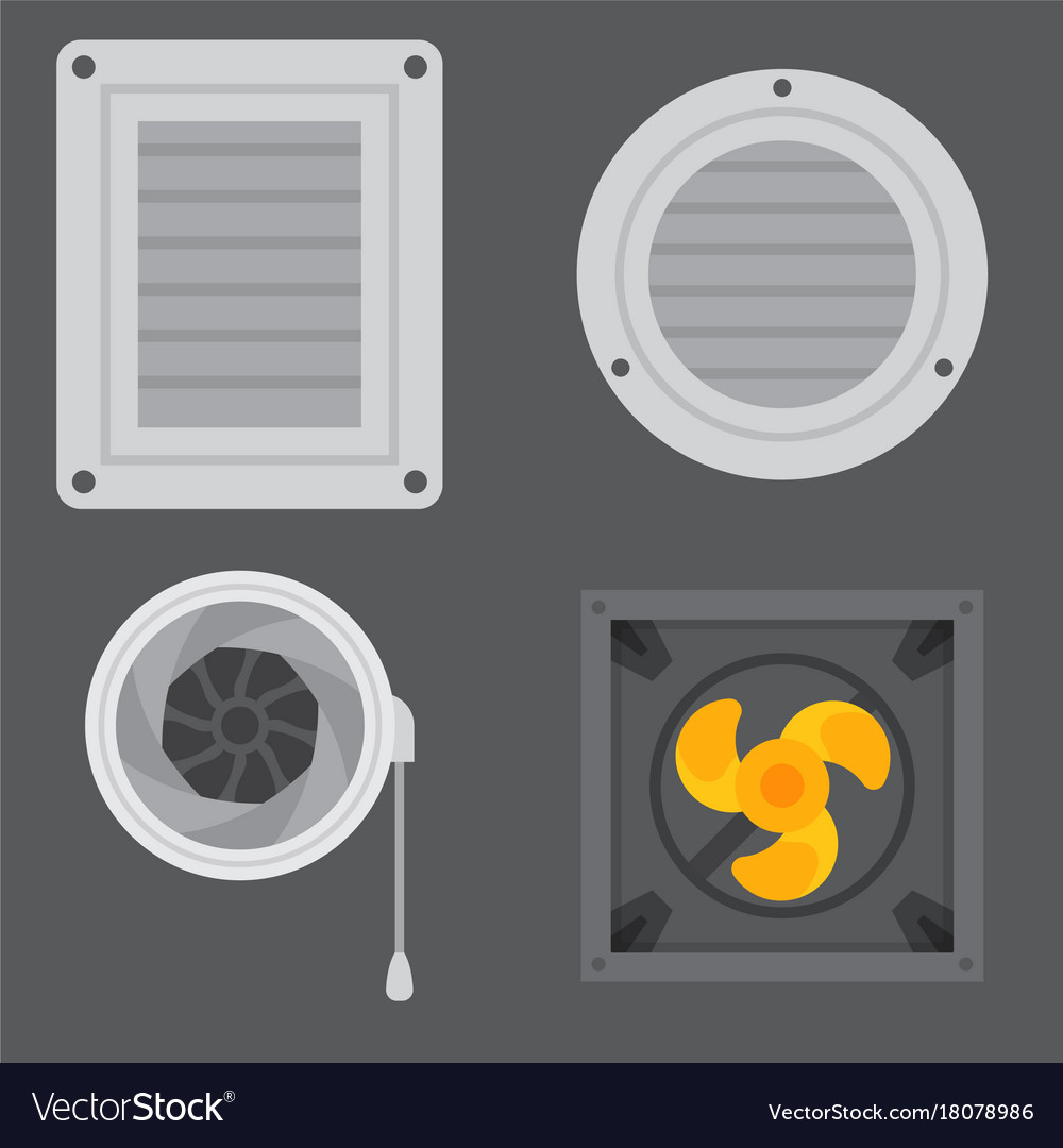 Air conditioner airlock systems equipment