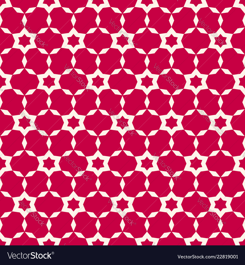 Abstract seamless pattern simple red geometric