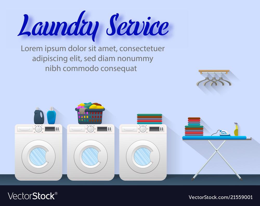 Laundry service concept design