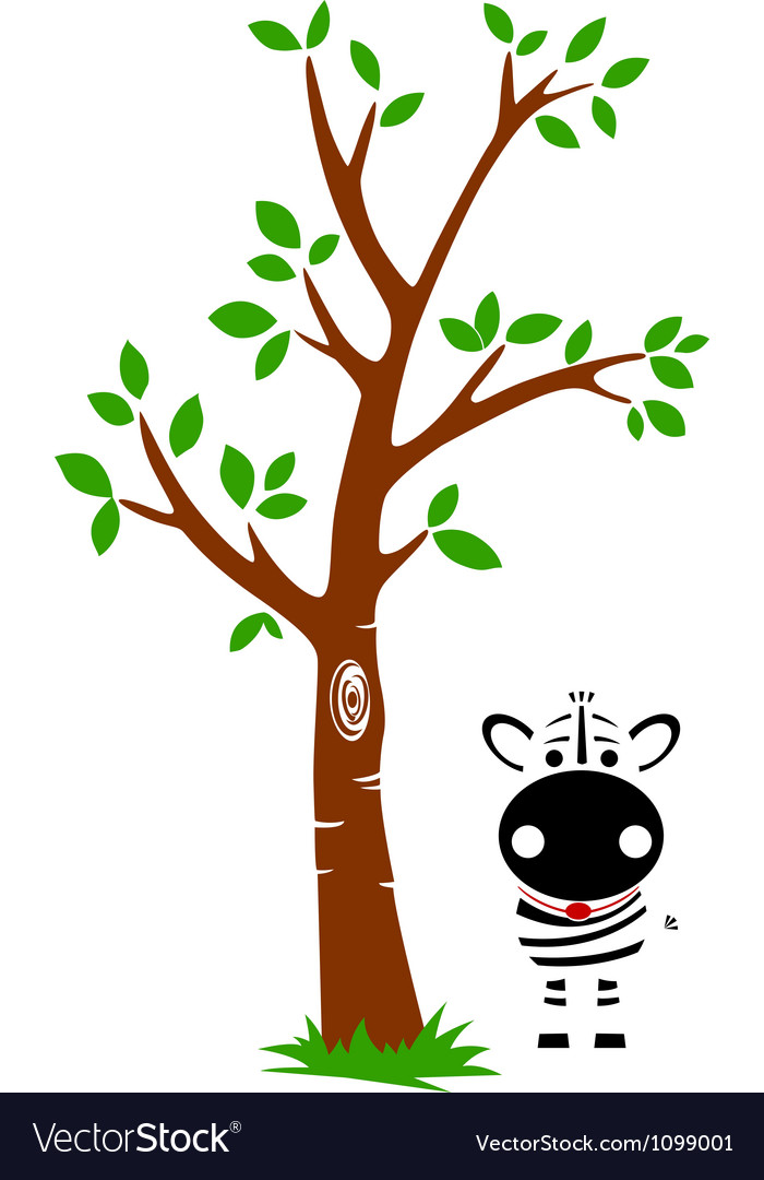 Tree and Zebra