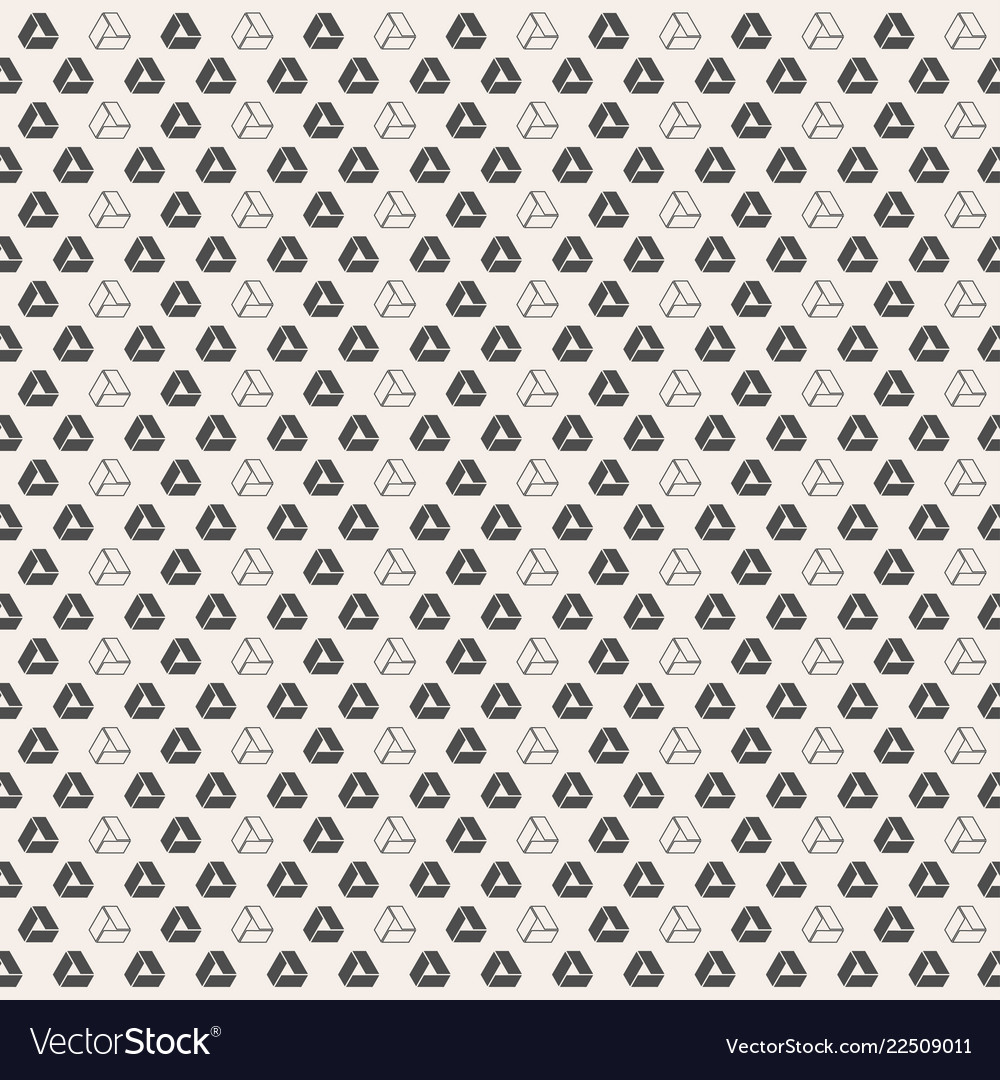 Abstract triangle seamless pattern abstact