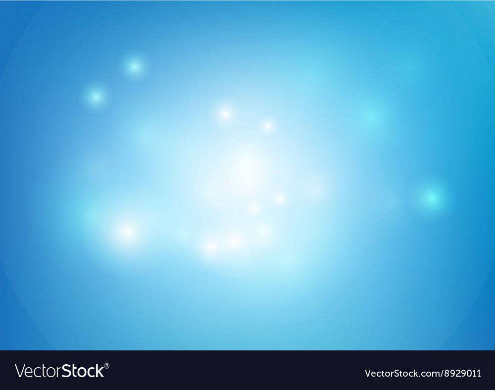 Blue abstract background lighting element