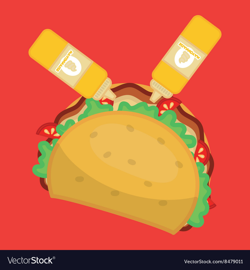 Flat about fast food design