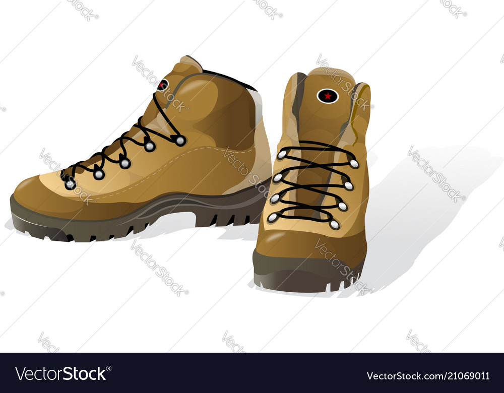 Hiking shoes mountain boots