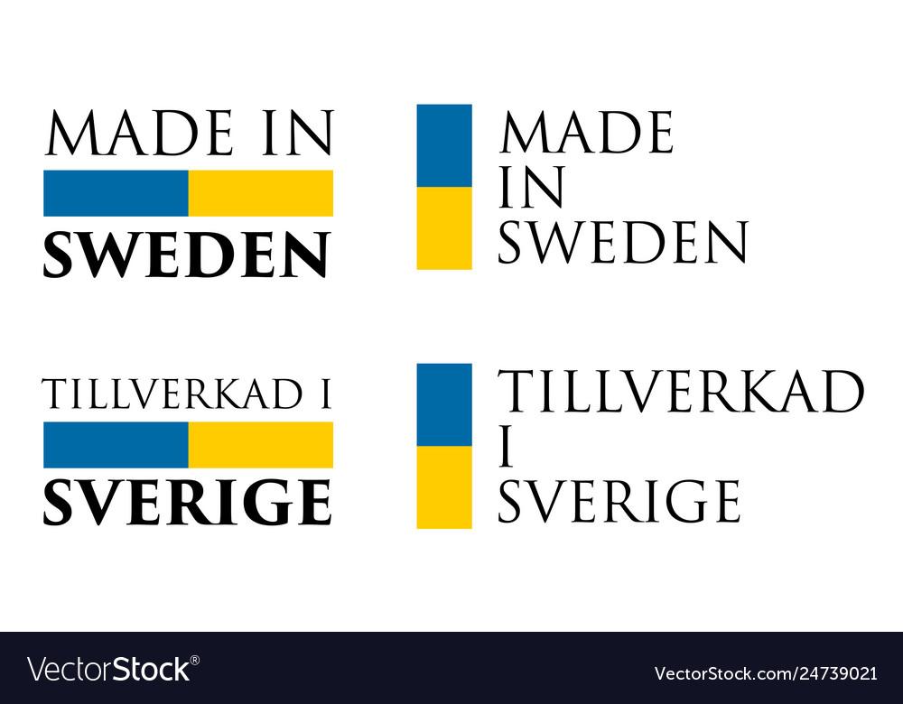 tillverkad i sverige