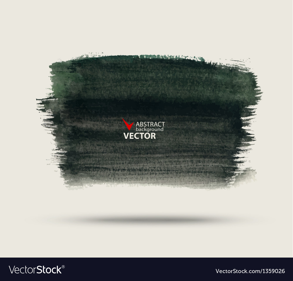 Abstract background painted watercolor paint vector image