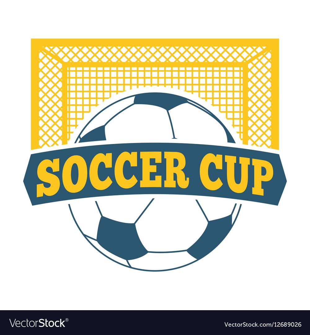 Soccer sign set