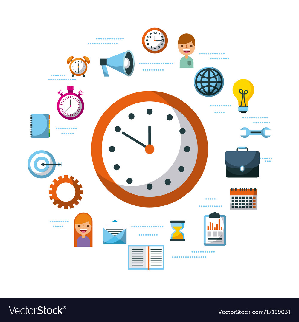 Time management planning time organization of