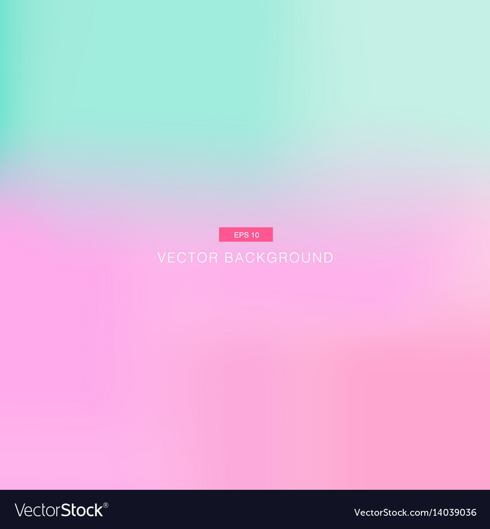 Abstract pink and blue pastel blurred wallpaper vector image