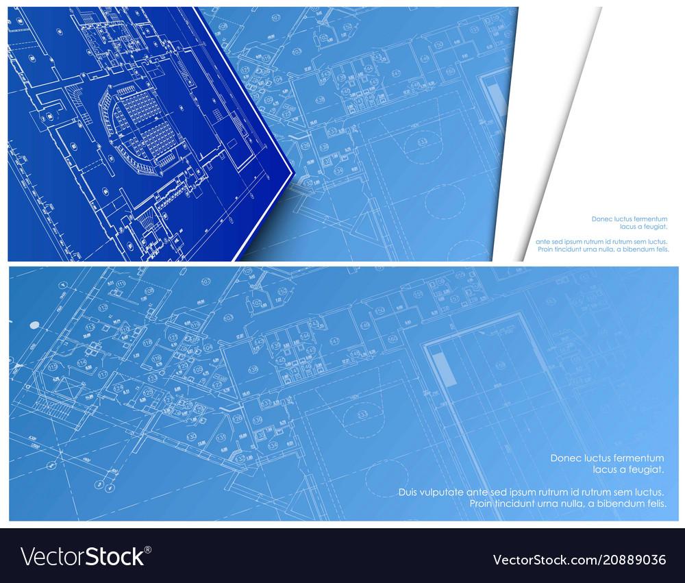 Architectural banner for facebook design