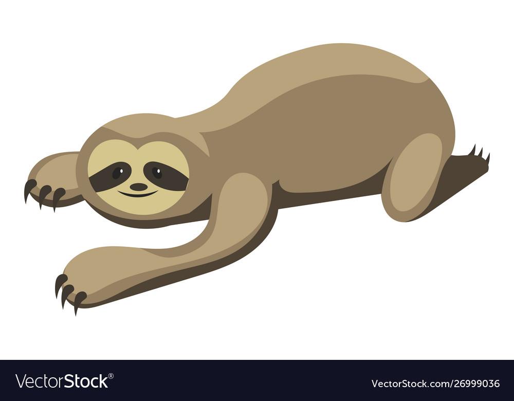 Cartoon sloth sloth