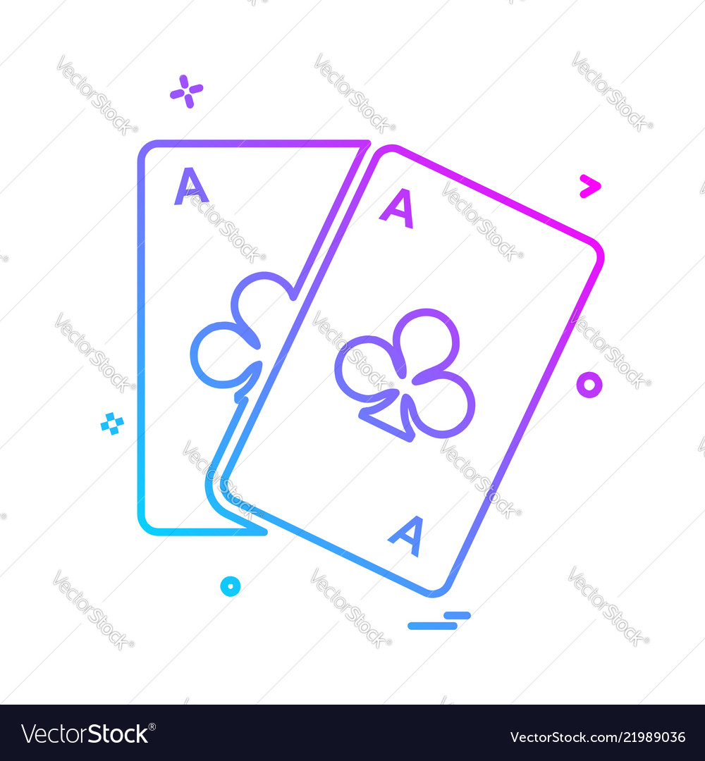 Poker icon design