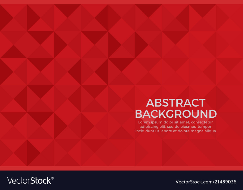 Red Color Background Abstract Art
