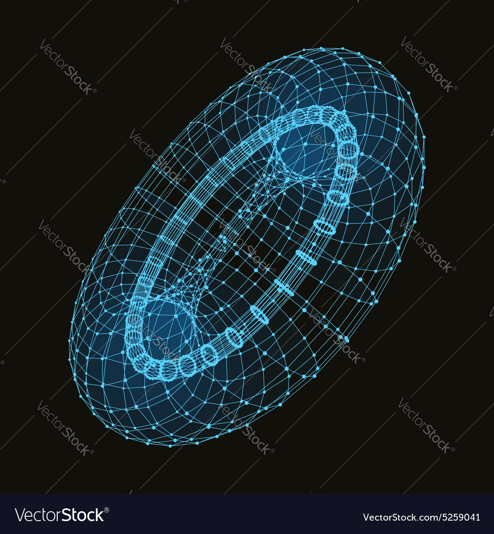 Abstract connection points and lines Graphic