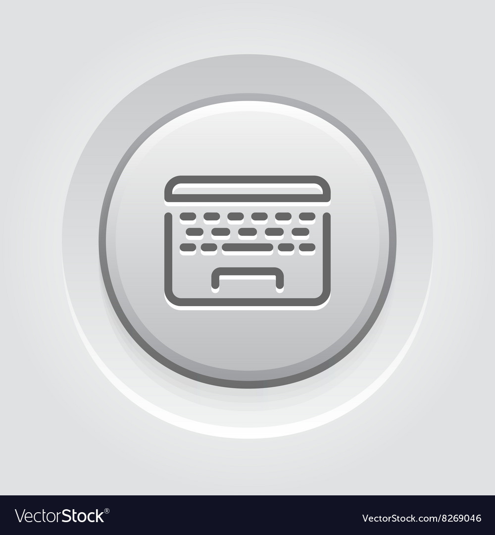 Laptop Button Icon