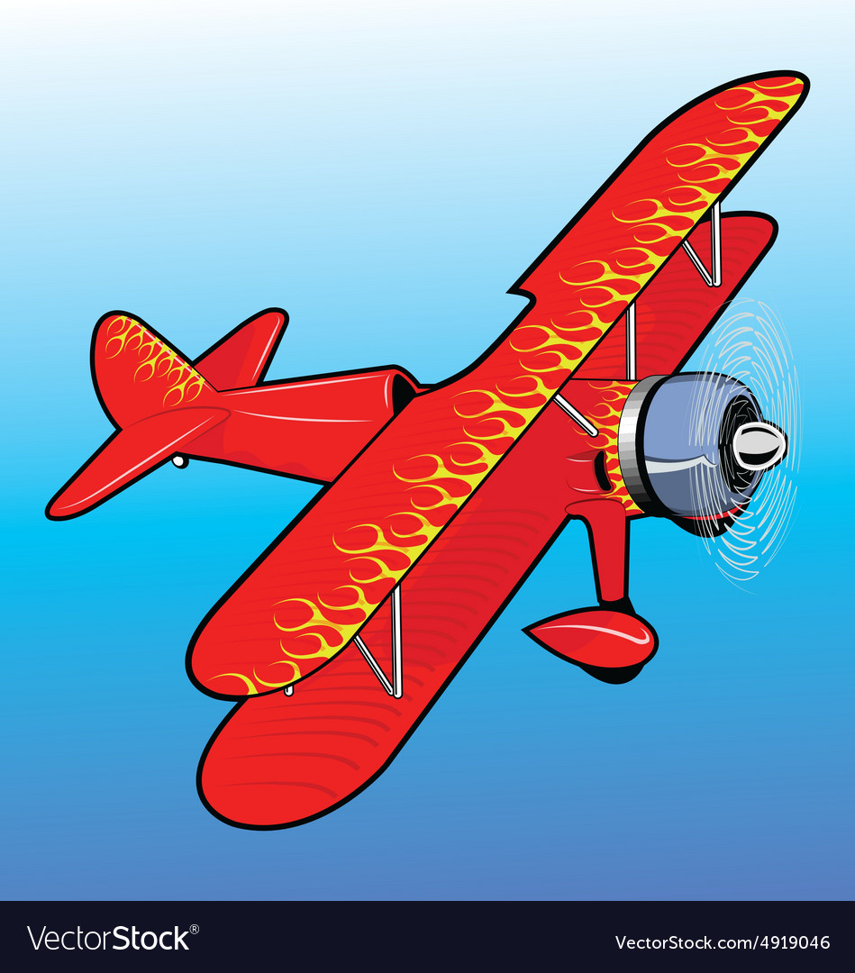 Propeller airplane toy