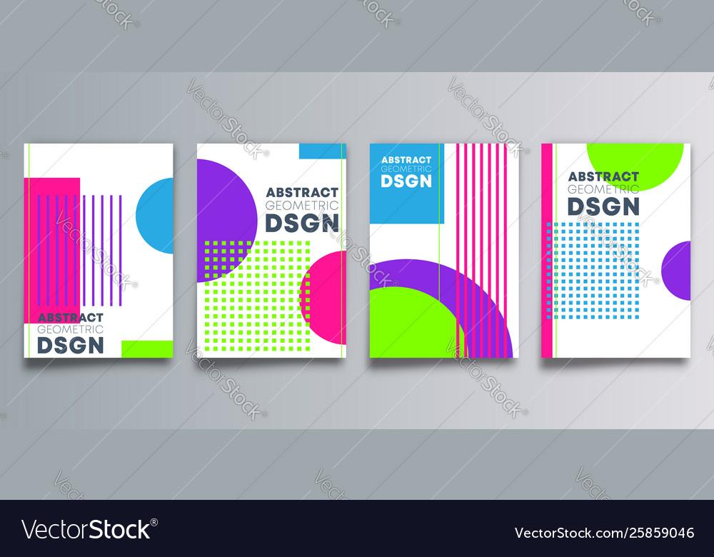Set minimal geometric design background