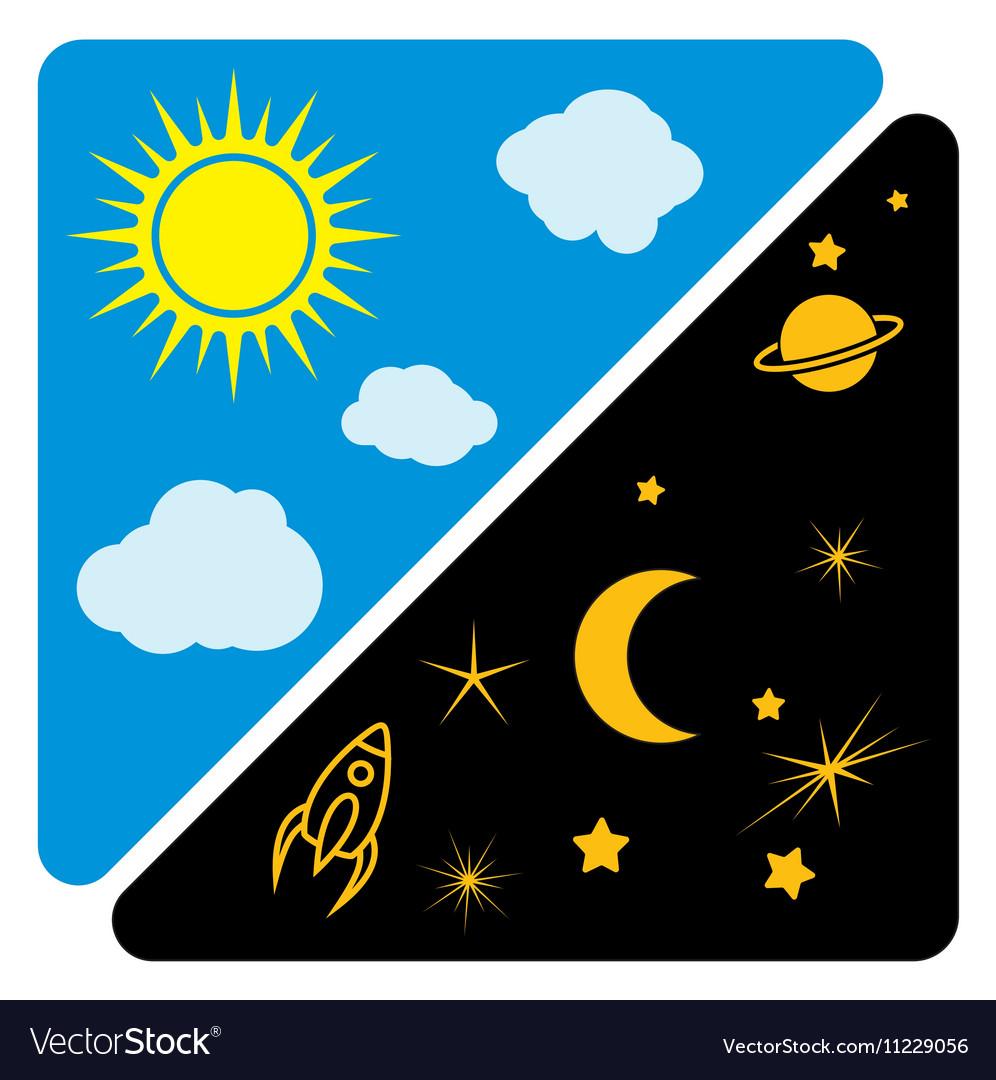 Что означает картинка день и ночь