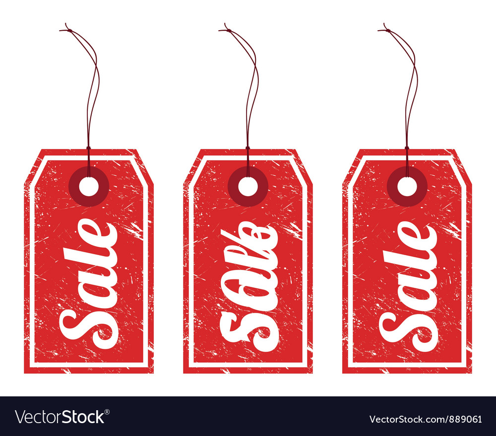 Sale vintage price tags
