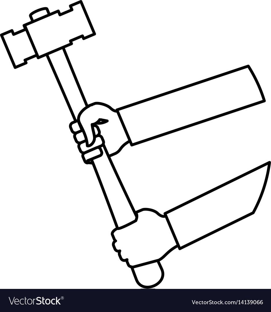 Hammer construction tool equipment
