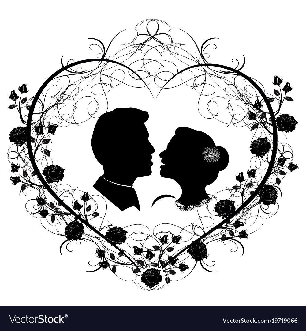 Wedding silhouette 12 royalty free vector image wedding silhouette 12 vector image junglespirit Gallery