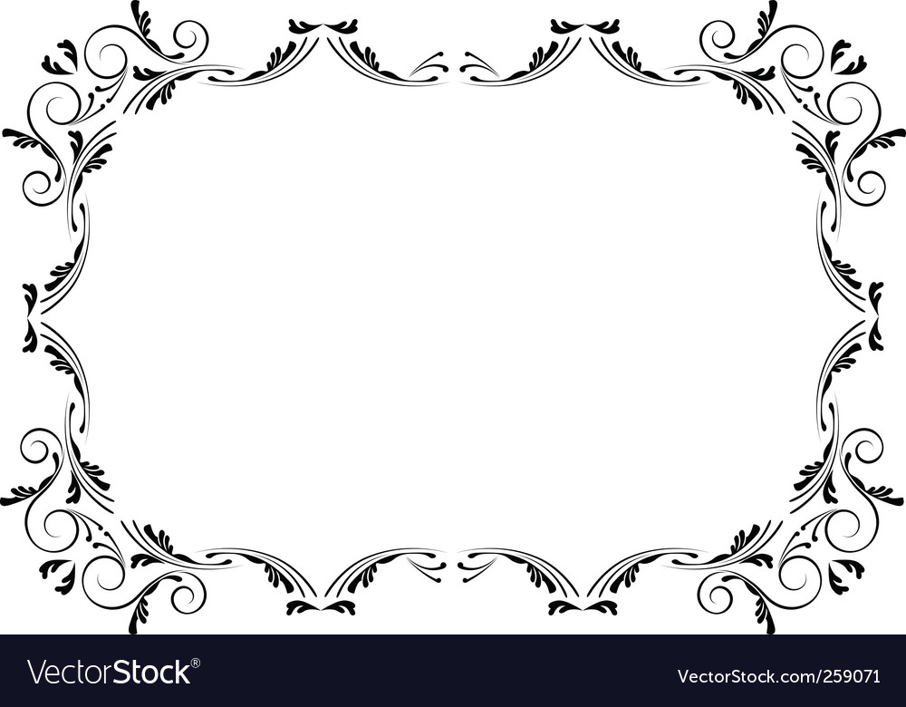 corners and borders royalty free vector image vectorstock rh vectorstock com borders vector download borders vector art