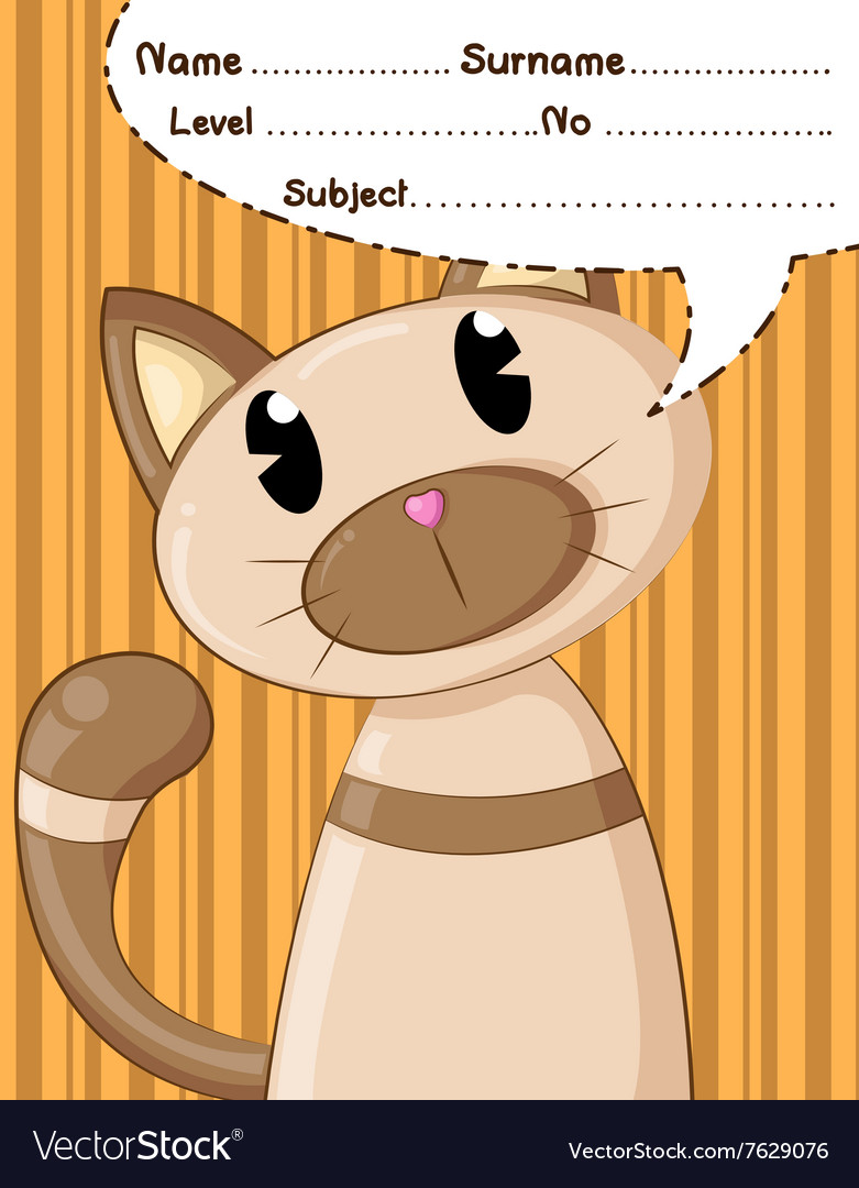 Cat cartoons and background