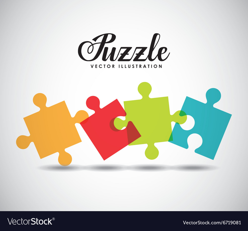 Puzzle assembling design