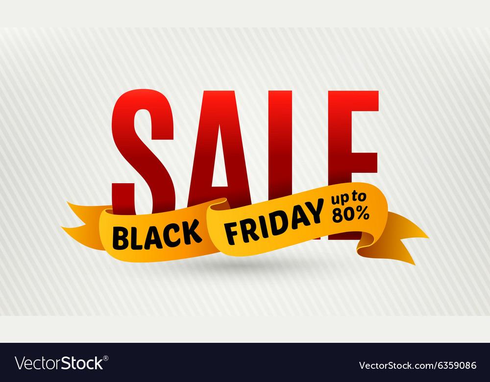 Black friday sale design template Sale banner