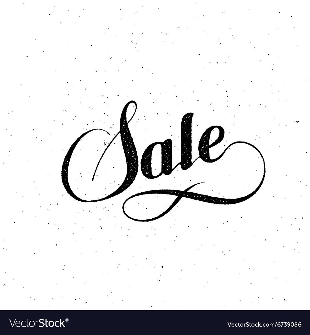 Sale label vintage